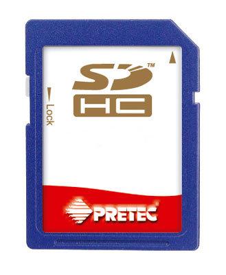 Pretec SDHC 16 GB Class 6