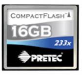 Pretec CF 16GB 233x