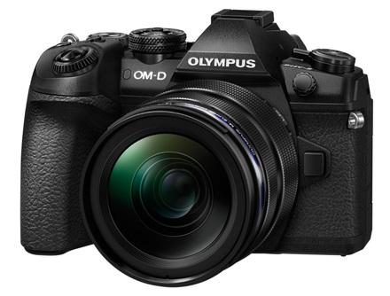 Olympus OM-D E-M1 Mark II + 12-40 mm + 40-150 mm Pro černý