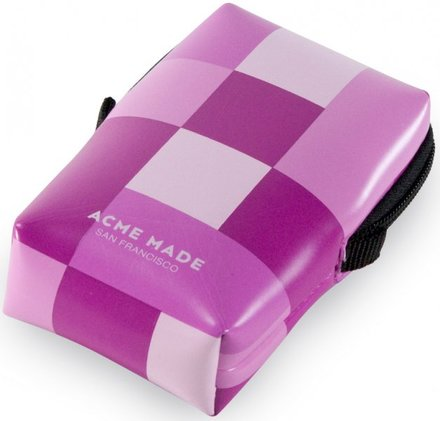Acme Made Smart Little Pouch Pink Gingham
