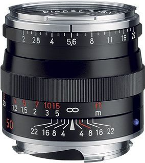 Zeiss Planar T* 50mm f/2,0 ZM pro Leica
