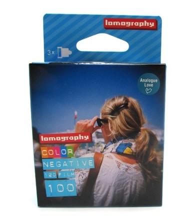 Lomography Color Negative 100/120 3 ks