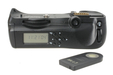 Aputure bateriový grip s displejem BP-D10II (Nikon MB-D10)