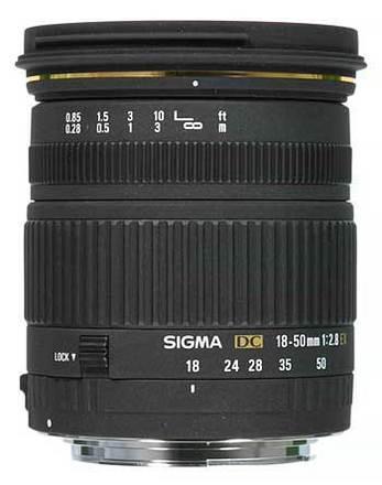 Sigma 18-50 /2,8 EX DC