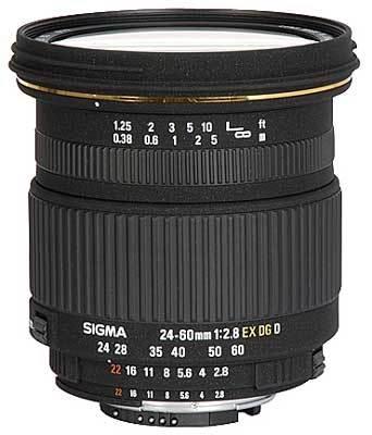 Sigma 24-60 mm F 2,8 EX DG IF pro Sony + utěrka Sigma zdarma!