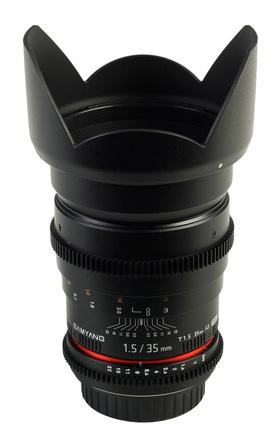 Samyang CINE 35mm T/1,5 VDSLR II pro Sony E