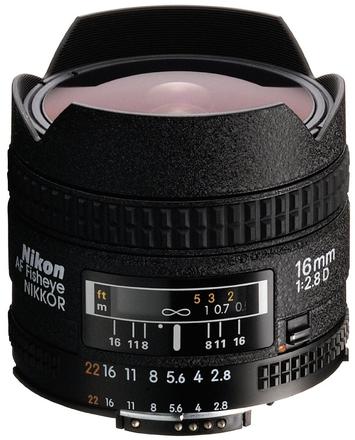 Nikon 16mm f/2,8 AF NIKKOR D A