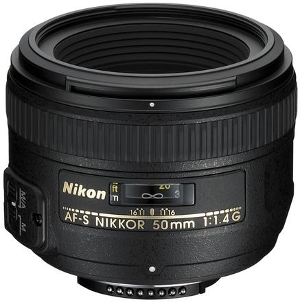 Nikon 50mm f/1,4 AF-S NIKKOR G
