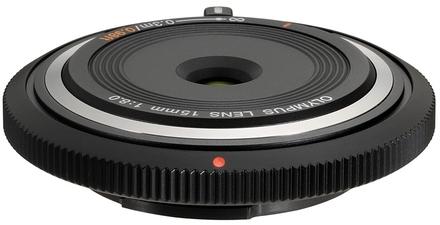 Olympus M.ZUIKO Cap Lens BCL-1580 15mm f/8,0 černý