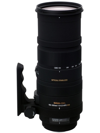 Sigma 150-500mm f/5,0-6,3 APO DG OS HSM pro Pentax