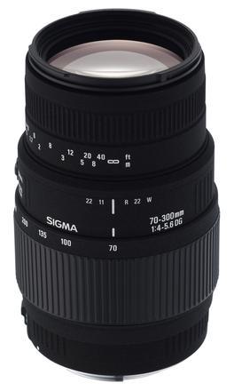 Sigma 70-300mm f/4,0-5,6 DG MACRO pro Canon