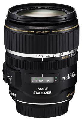 Canon EF-S 17-85 mm f/4-5,6 USM IS rozbalený kus