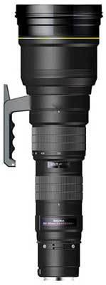 Sigma 300-800 mm F 5,6 APO EX DG HSM pro Sigma + utěrka Sigma zdarma!
