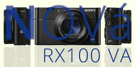 Vylepšený kompakt Sony CyberShot DSC-RX100 VA