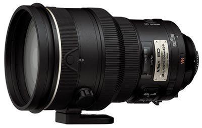 Nikon 200 mm F2G IF-ED AF-S VR NIKKOR s CL-L1 / HK-31 / LF-1 / LN-1