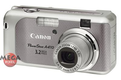 Canon PowerShot A410 šedá