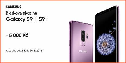 Ušetřete až 9 000 Kč při nákupu Samsung Galaxy S9 a S9+