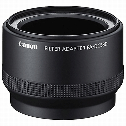 Canon adapter na filtr FA-DC58D
