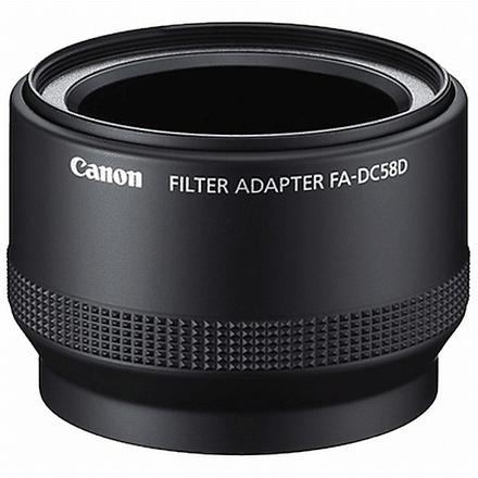 Canon adapter na filtr FA-DC58D