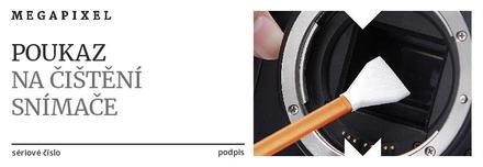 Poukaz na čištění snímacího čipu Nikon zdarma!