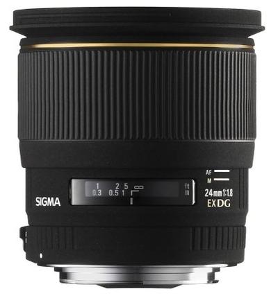 Sigma 24mm f/1,8 EX DG ASPHERICAL MACRO pro Nikon