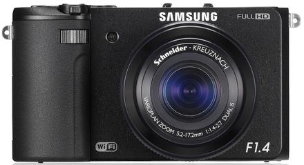 Samsung EX2F černý + 16GB Ultra + adaptér na filtr + UV 52mm filtr!