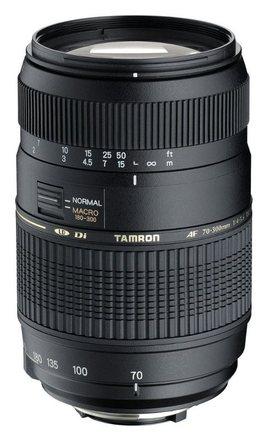 Tamron AF 70-300mm f/4,0-5,6 Di LD Macro pro Nikon + UV filtr + PL filtr + neoprénové pouzdro!