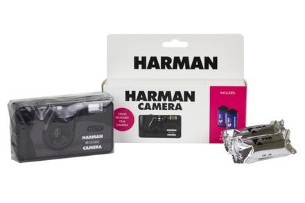 Harman fotoaparát + 2× KENTMERE 400 bazar