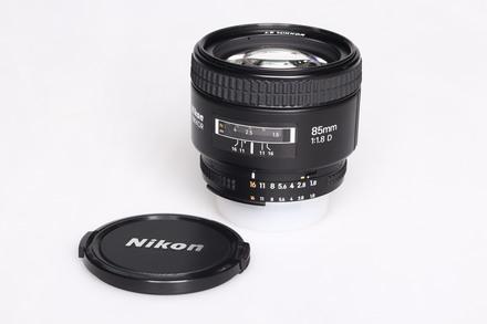 Nikon 85 mm f/1,8 AF NIKKOR D bazar