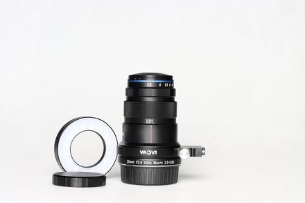 Laowa 25 mm f/2.8 2.5-5X Ultra-Macro pro Nikon F bazar