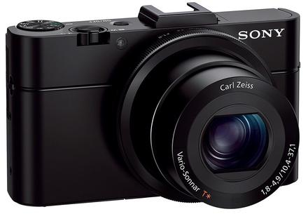Sony CyberShot DSC-RX100 II + 32GB karta + originální pouzdro + akumulátor + čistící utěrka!
