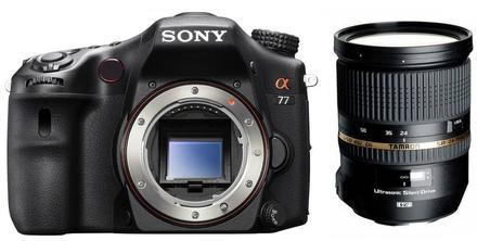Sony Alpha A77 + Tamron 24-70 mm