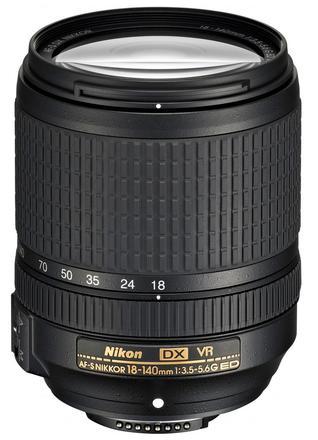 Nikon 18-140mm f/3,5-5,6 G ED VR