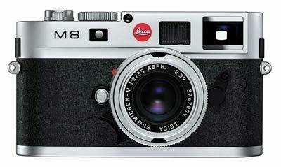Leica M8 stříbrný