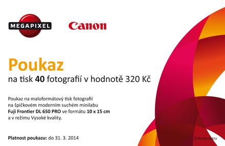 40ks fotografií formátu 10x15cm