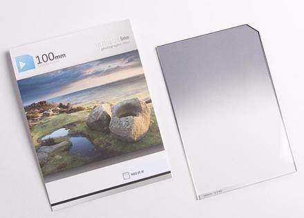 84.5mm Ultimate 100x150mm ND filtr 0,3 s jemným přechodem