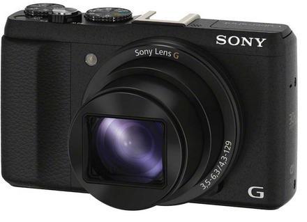 Sony CyberShot DSC-HX60 černý + 16GB Class 10 + originální pouzdro + akumulátor + čistící utěrka!