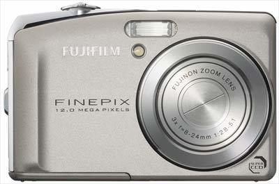 Fuji FinePix F50fd stříbrná