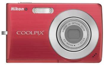 Nikon Coolpix S200 červený