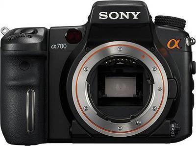 Sony Alpha A700 tělo