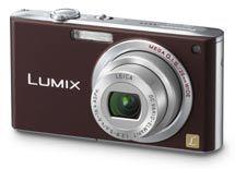 Panasonic DMC-FX33 hnědý