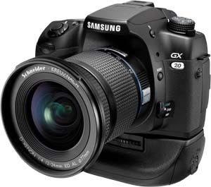 Samsung GX 20 + 18-55 mm F3,5-5,6