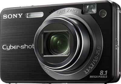 Sony DSC-W150 černý
