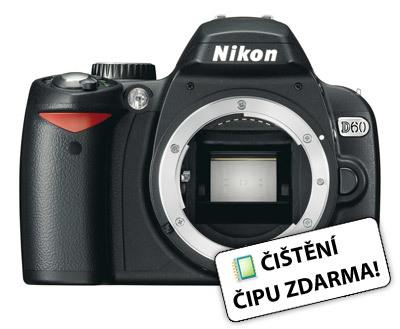 Nikon D60 tělo