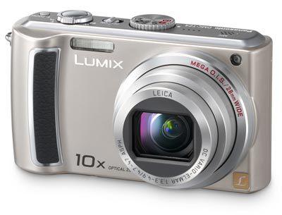 Panasonic Lumix DMC-TZ4 stříbrný