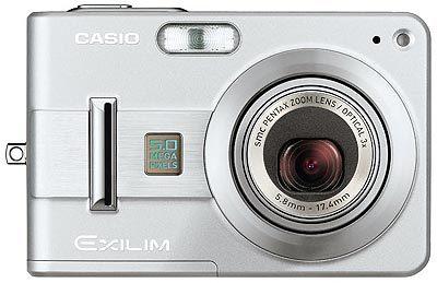 Casio EXILIM - Z57 stříbrný