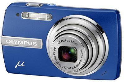 Olympus Mju 840 modrý