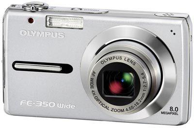 Olympus FE-350 Wide stříbrný