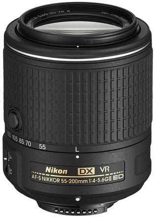 Nikon 55-200mm f/4,0-5,6G AF-S AF-S DX VR II