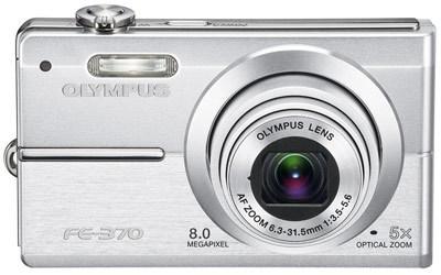 Olympus FE-370 stříbrný
